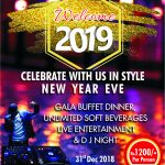 New year party of 2019 at Jhansi hotel is all set!