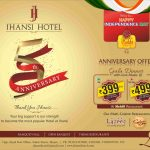 Jhansi Hotel's grand 5th anniversary!